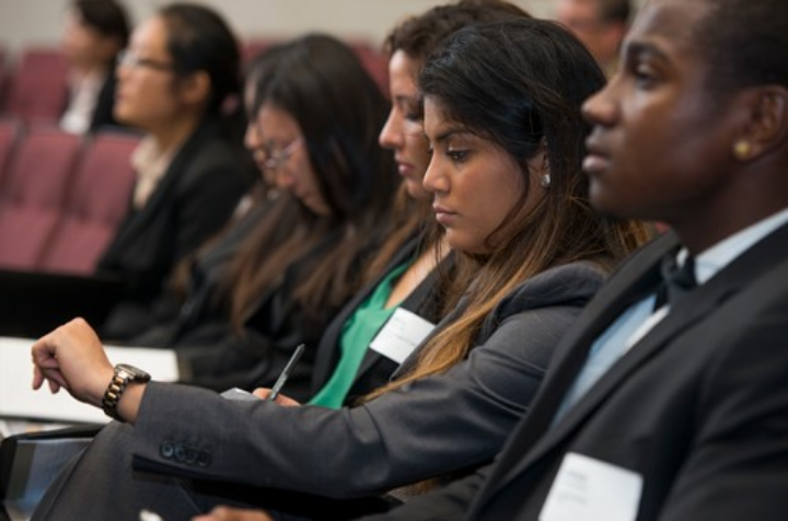 Students of color, career services